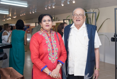 Launch of the Dr. Isaiah James Boodhoo Art Gallery_4