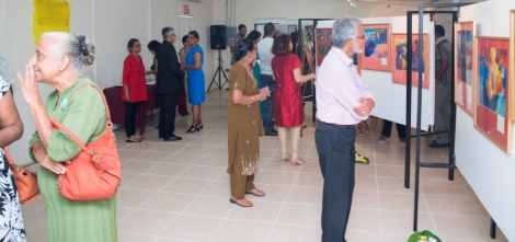 Launch of the Dr. Isaiah James Boodhoo Art Gallery_6